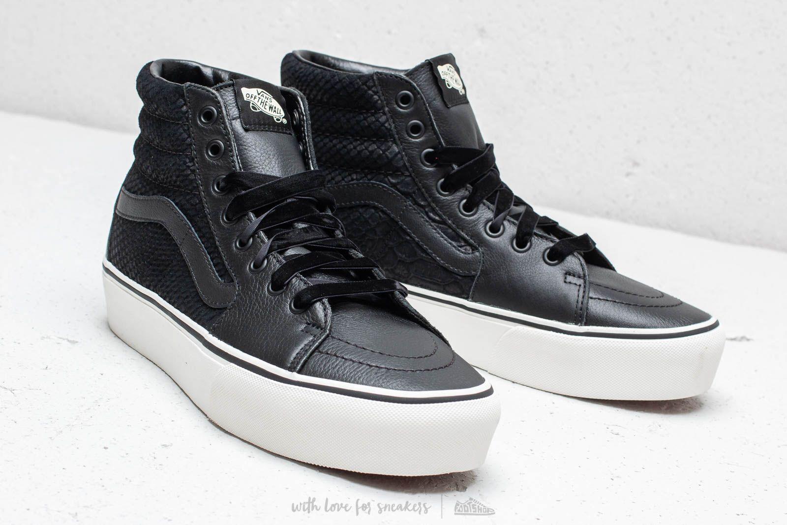6e6b0f050a Lyst - Vans Sk8-hi Platform 2 (leather) Snake  Black in Black for Men