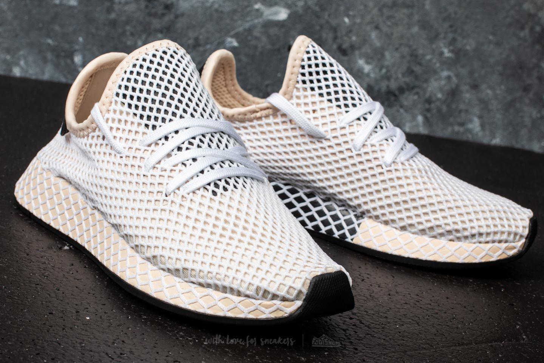 wholesale dealer fb041 73015 adidas Originals Adidas Deerupt Runner W Linen linen ecru Tint - Lyst