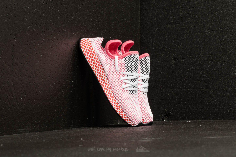 1a45bbda0ba Lyst - adidas Originals Adidas Deerupt Runner W Chalk Pink  Chalk ...