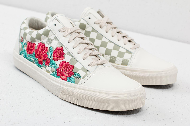 Lyst - Vans Old Skool Dx (rose Embroidery) Marshmallow for Men 488343f95
