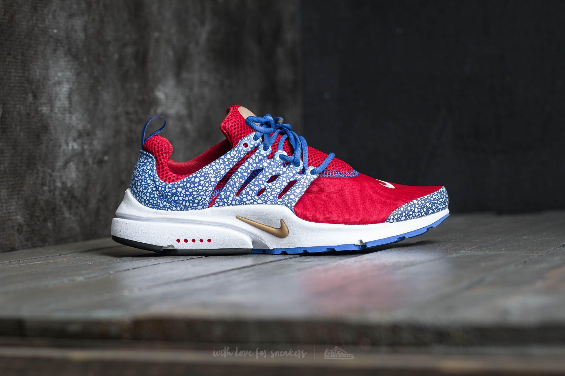 buy online 24ad6 5edd2 Lyst - Nike Air Presto Qs Gym Red  Racer Blue-white for Men