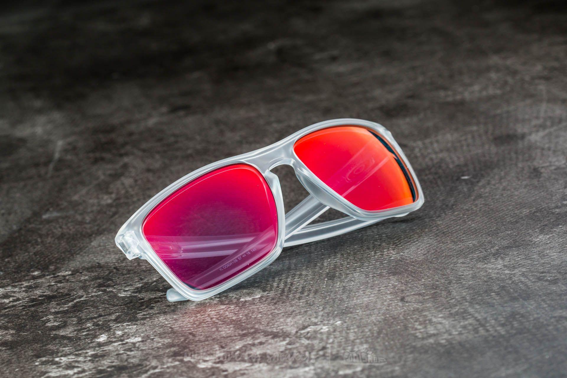 37a9aa8325 Footshop - Multicolor Oakley Sliver Xl Matte Clear  Torch Iridium - Lyst