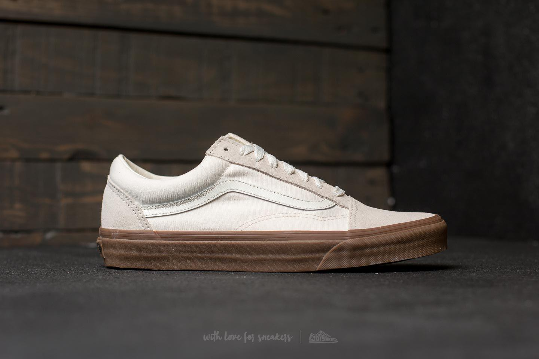 8f8e7c9755d Lyst - Vans Old Skool (suede  Canvas) White  Gum
