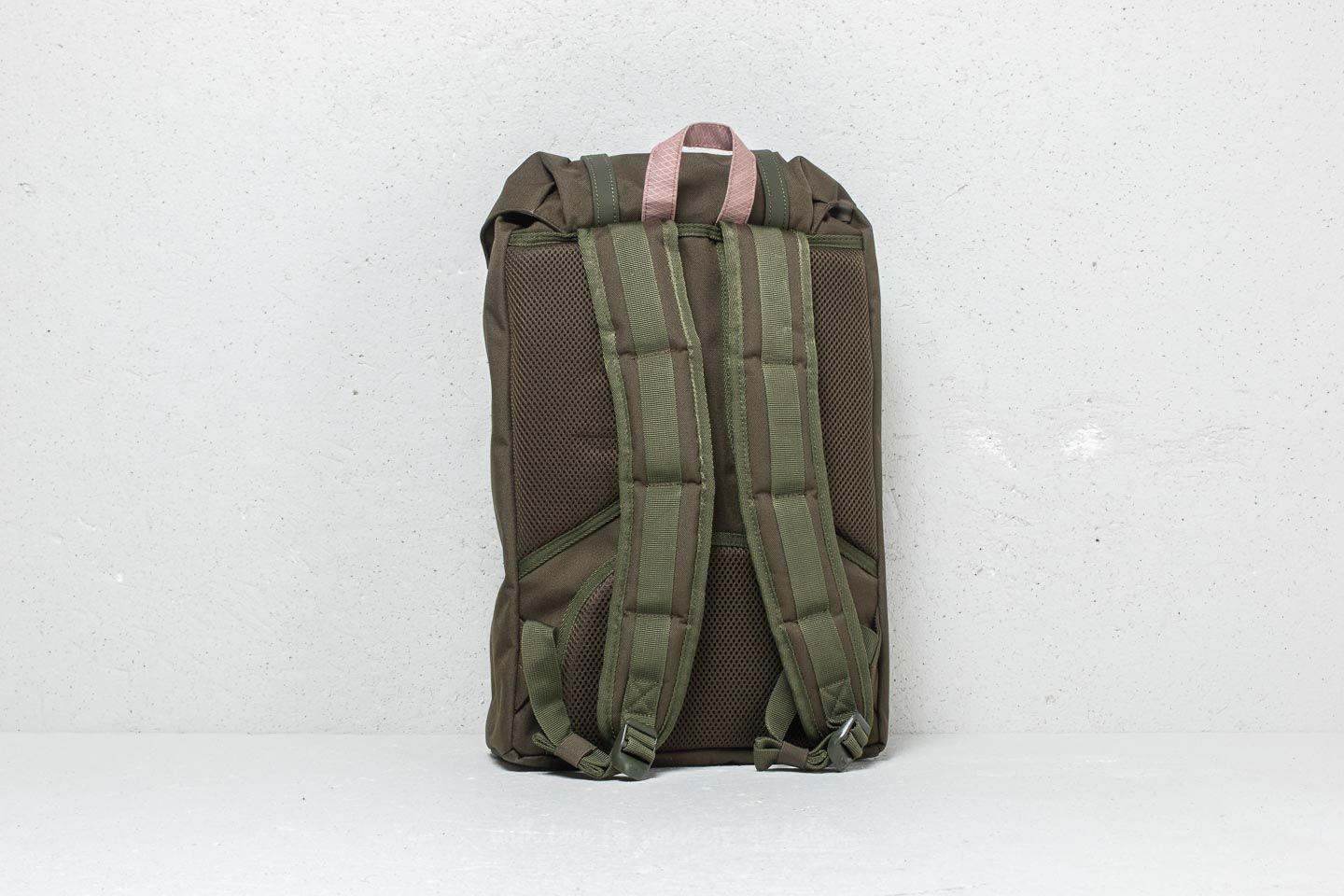 Lyst - Herschel Supply Co. Little America Mid Volume Backpack Forest ... fb46b0fe31
