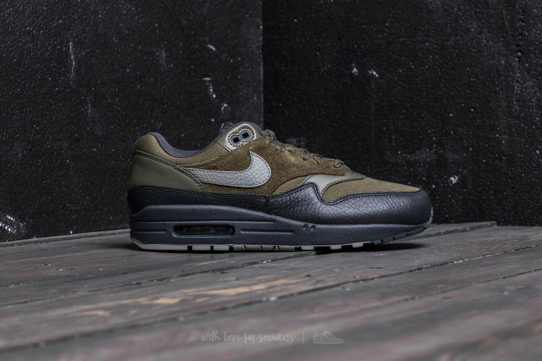 sports shoes 82a8b 41dfa Lyst - Nike Air Max 1 Premium Medium Olive  Dark Stucco for Men