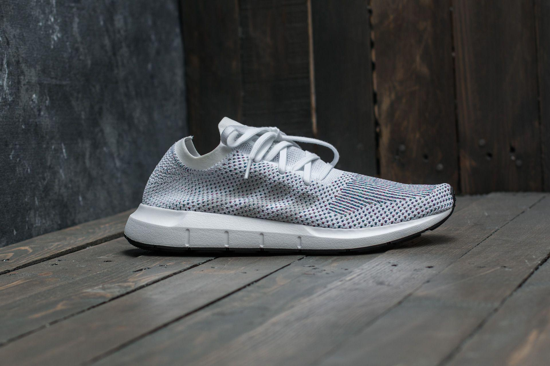 Lyst - adidas Originals Adidas Swift Run Primeknit Ftw White  Grey ... c3eadb8dec