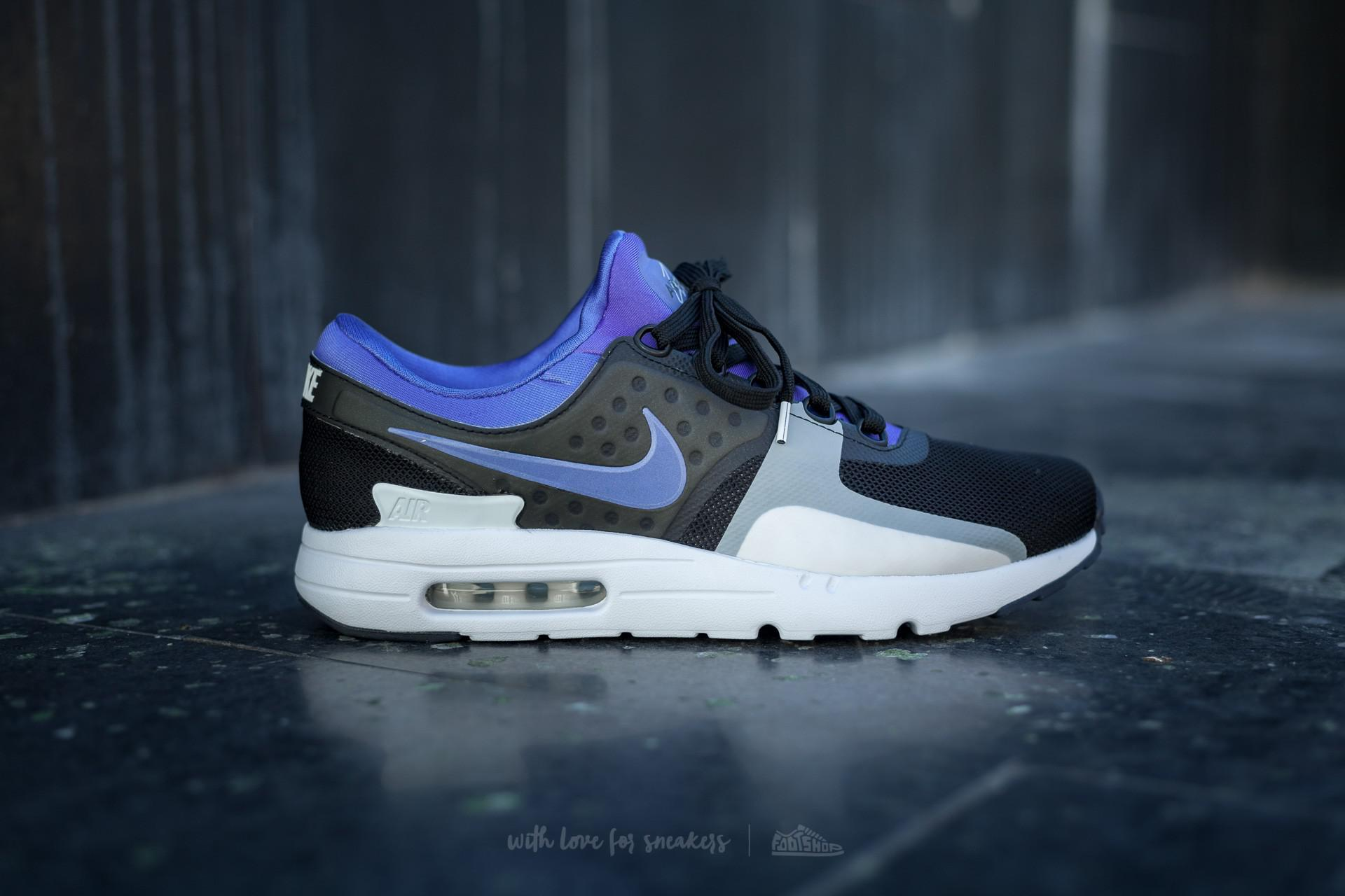 300821aa76adaa Lyst - Nike Air Max Zero Qs Black  Persian Violet-white for Men