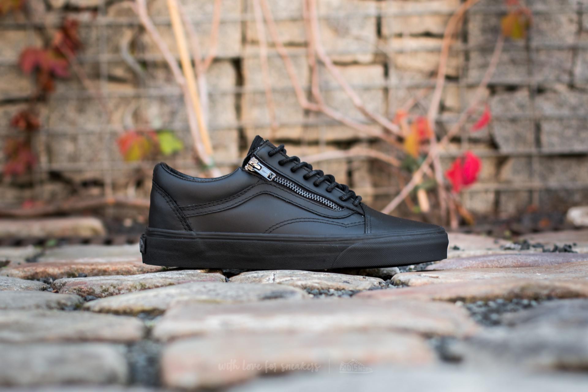 2087416606 Lyst - Vans Old Skool Zip (gunmetal) Black  Black in Black