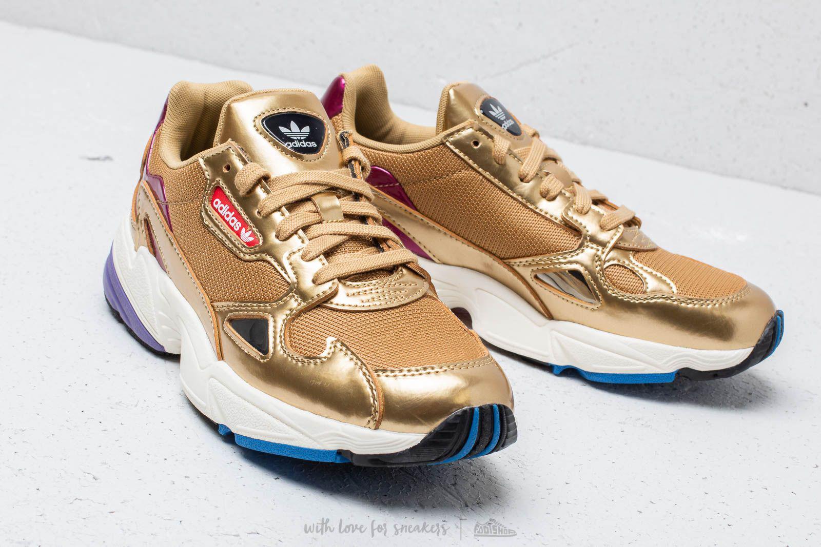 on sale aed6c 92333 Lyst - adidas Originals Adidas Falcon W Gold Metallic Gold M