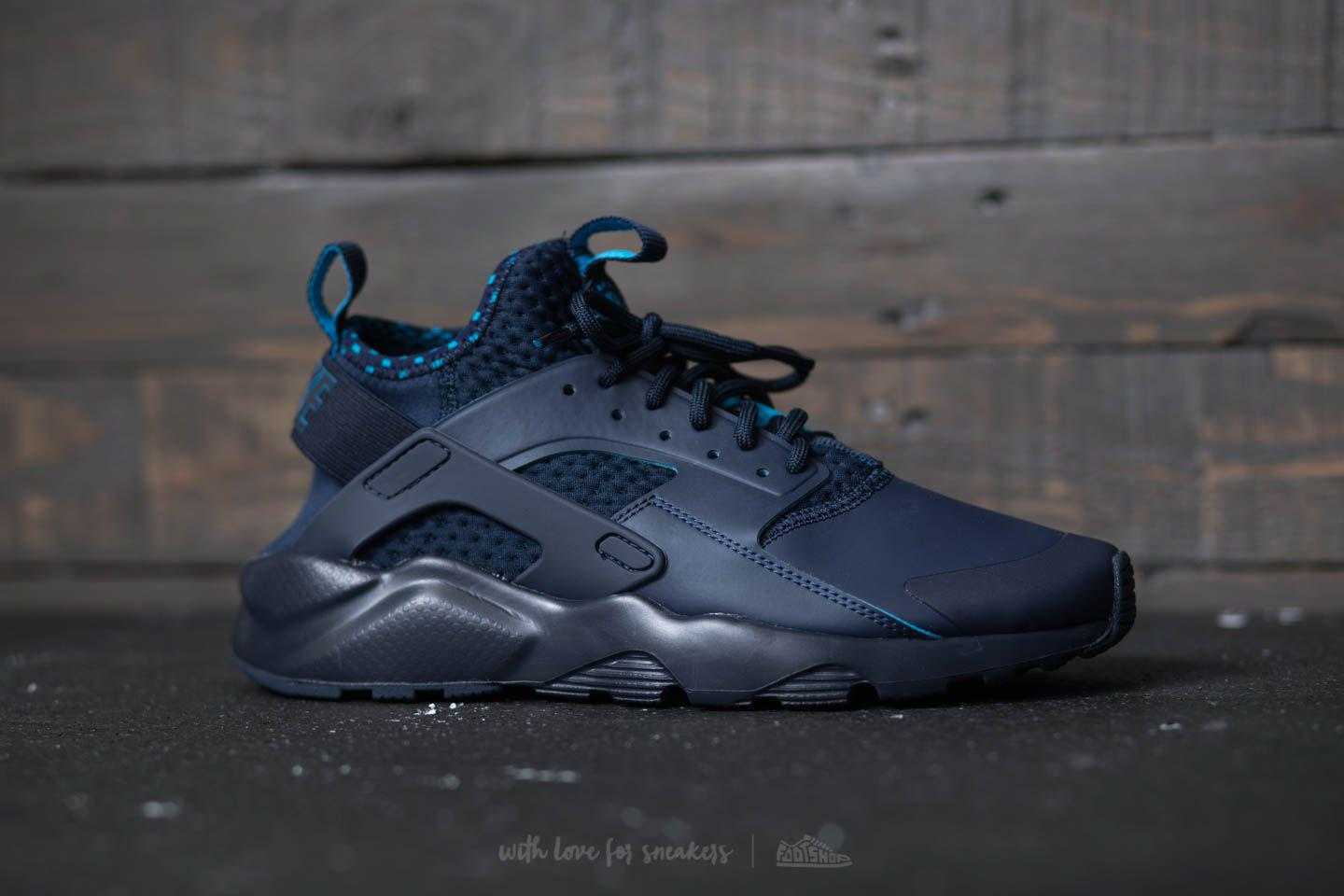 d7fd5aabc738 ... coupon for lyst nike air huarache run ultra se obsidian light blue  lacquer c4060 1d7e3