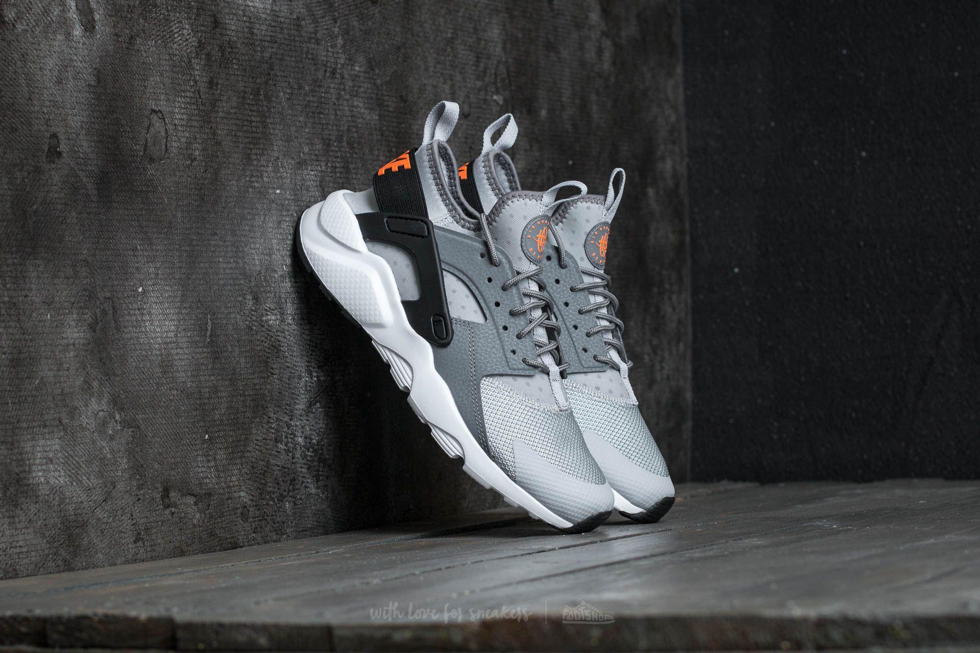 6ea3ea7d7902 Lyst - Nike Air Huarache Run Ultra (gs) Wolf Grey  Tart-cool Grey ...