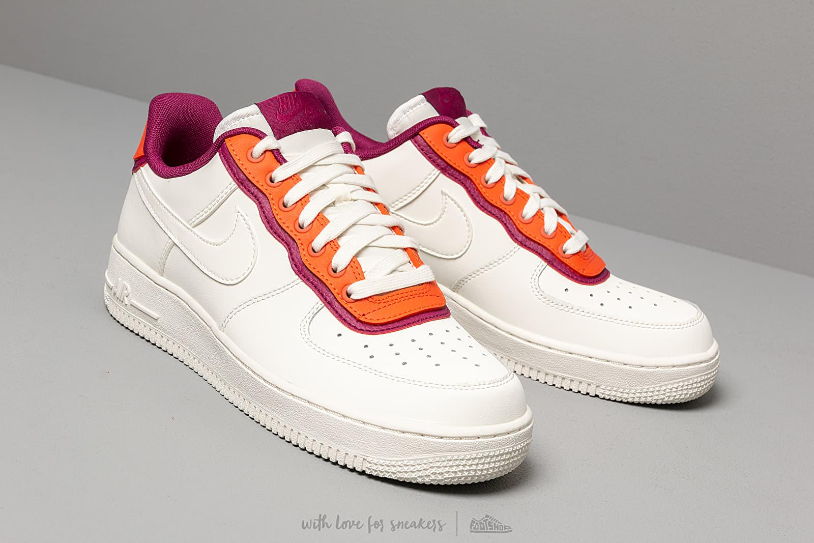 new product ba9d6 3cf92 Nike Air Force 1  07 Lv8 1 Sail  Sail-team Orange-true Berry for Men ...