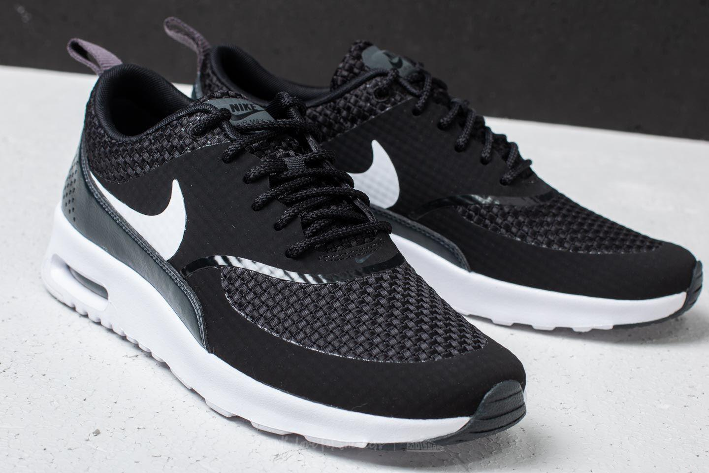 new concept 78002 17164 Lyst - Nike Wmns Air Max Thea Premium Black  White-anthracite in Black