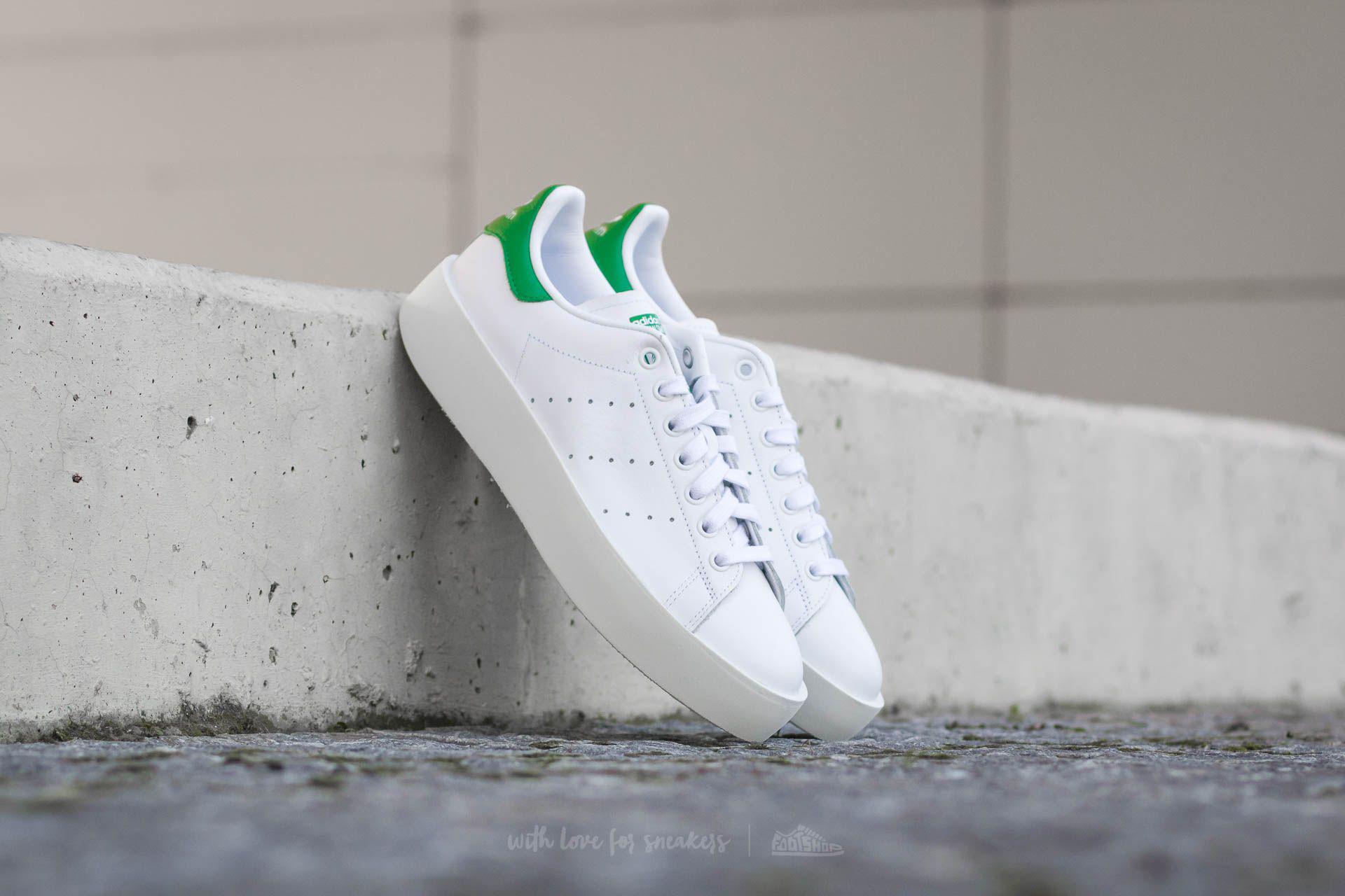 Lyst adidas Originals Adidas Stan Smith Bold W FTW blanco / FTW
