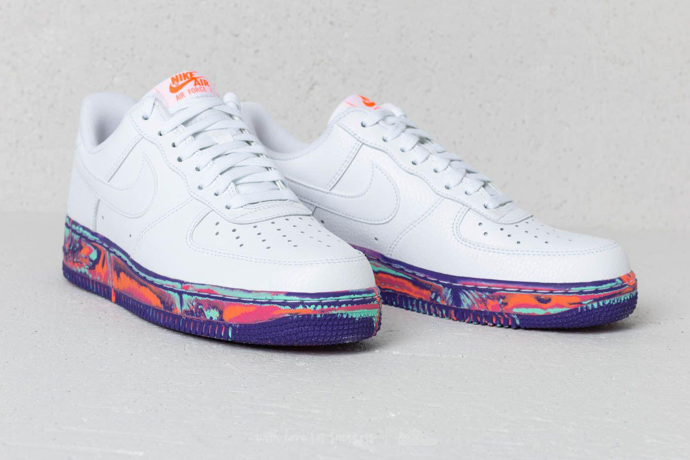 f8c128bea0b60 Nike Air Force 1 '07 Lv8 Leather White/ White-vast Grey in White for ...