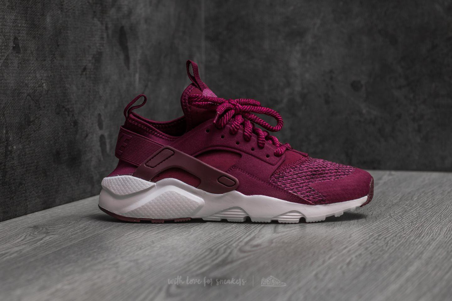 5df52df8ed653 Lyst - Nike Air Huarache Run Ultra Se (gs) Bordeaux  Bordeaux-tea Berry