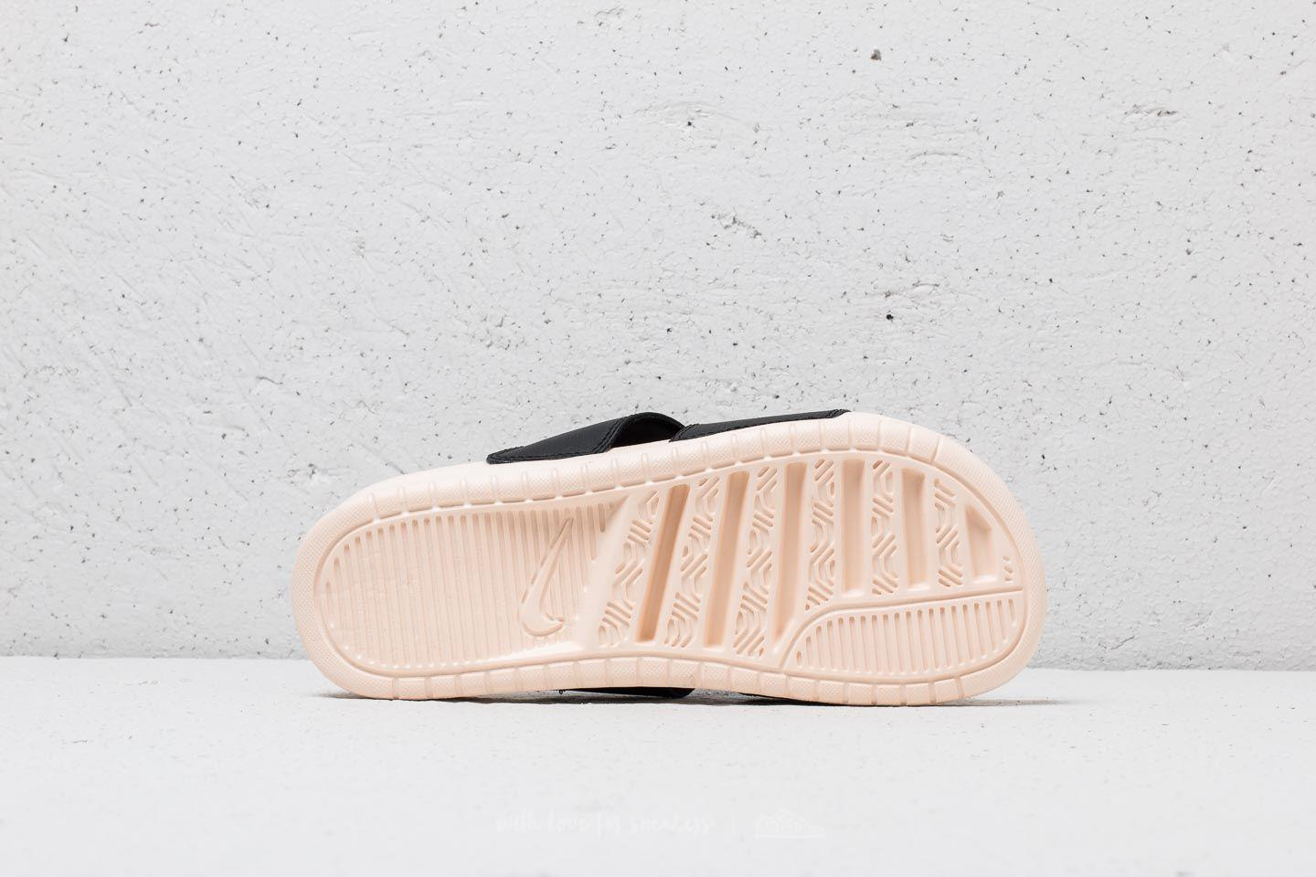 036630a3fd3 Lyst - Nike Wmns Benassi Duo Ultra Slide Black  Guava Ice-guava Ice ...