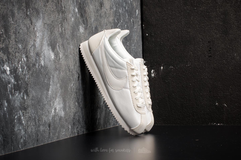 Lyst - Nike Wmns Classic Cortez Nylon Ivory  Ivory-light Bone in White a5522196644b