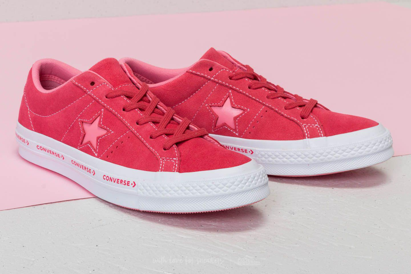 aa3e4d23861d Lyst - Converse One Star Ox Paradise Pink  Geranium Pink in Pink for Men