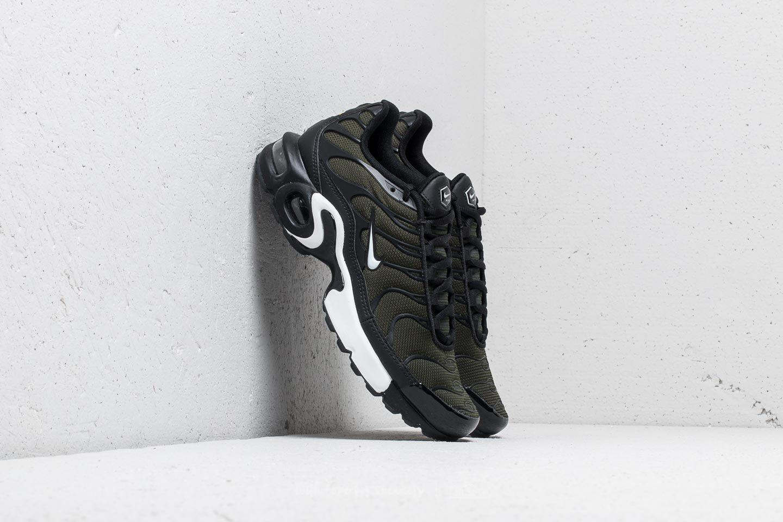 detailed look f7a19 eea3c Nike Air Max Plus (gs) Sequoia  White-black in Black - Lyst