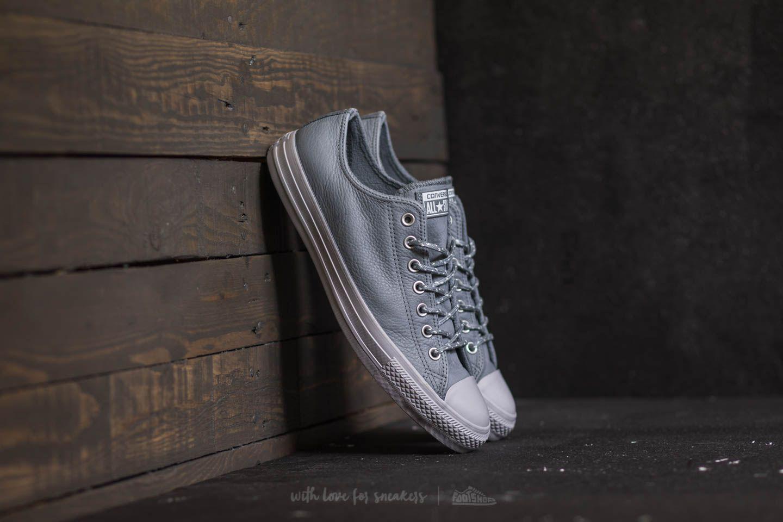 1fc27906bb4b1e Lyst - Converse Chuck Taylor All Star Ox Cool Grey  Pure Platinum in ...