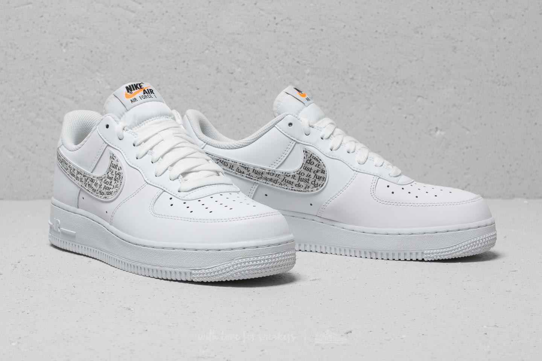 sale retailer 033d5 c1a67 Nike Air Force 1 ́07 Lv8 Jdi Lntc White  White-black-total Orange in ...