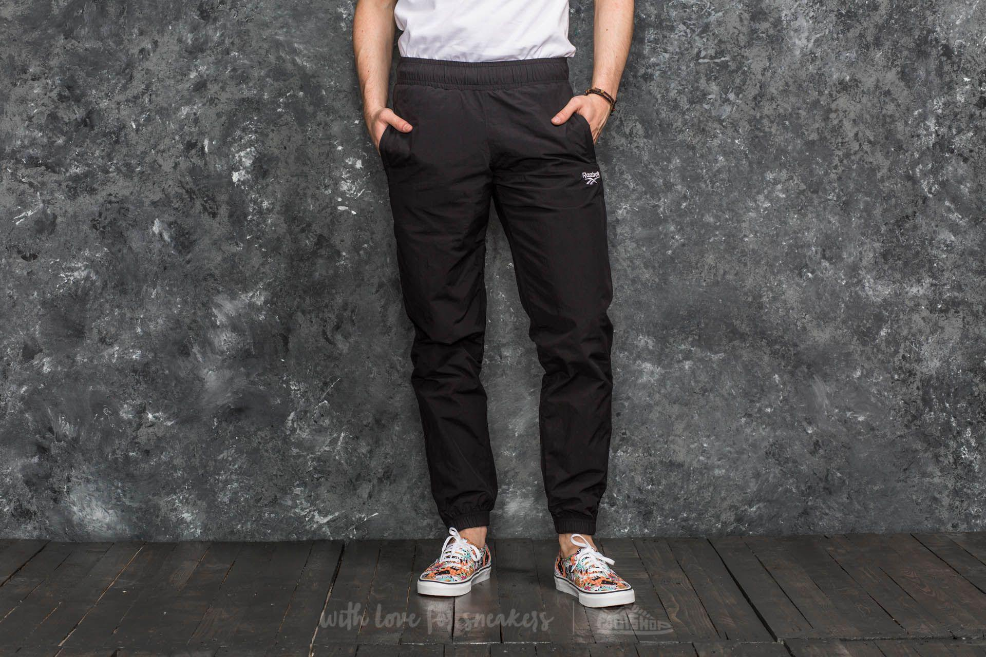 fcf9fb20a6340d Reebok Lf Vector Track Pant Black in Black for Men - Lyst