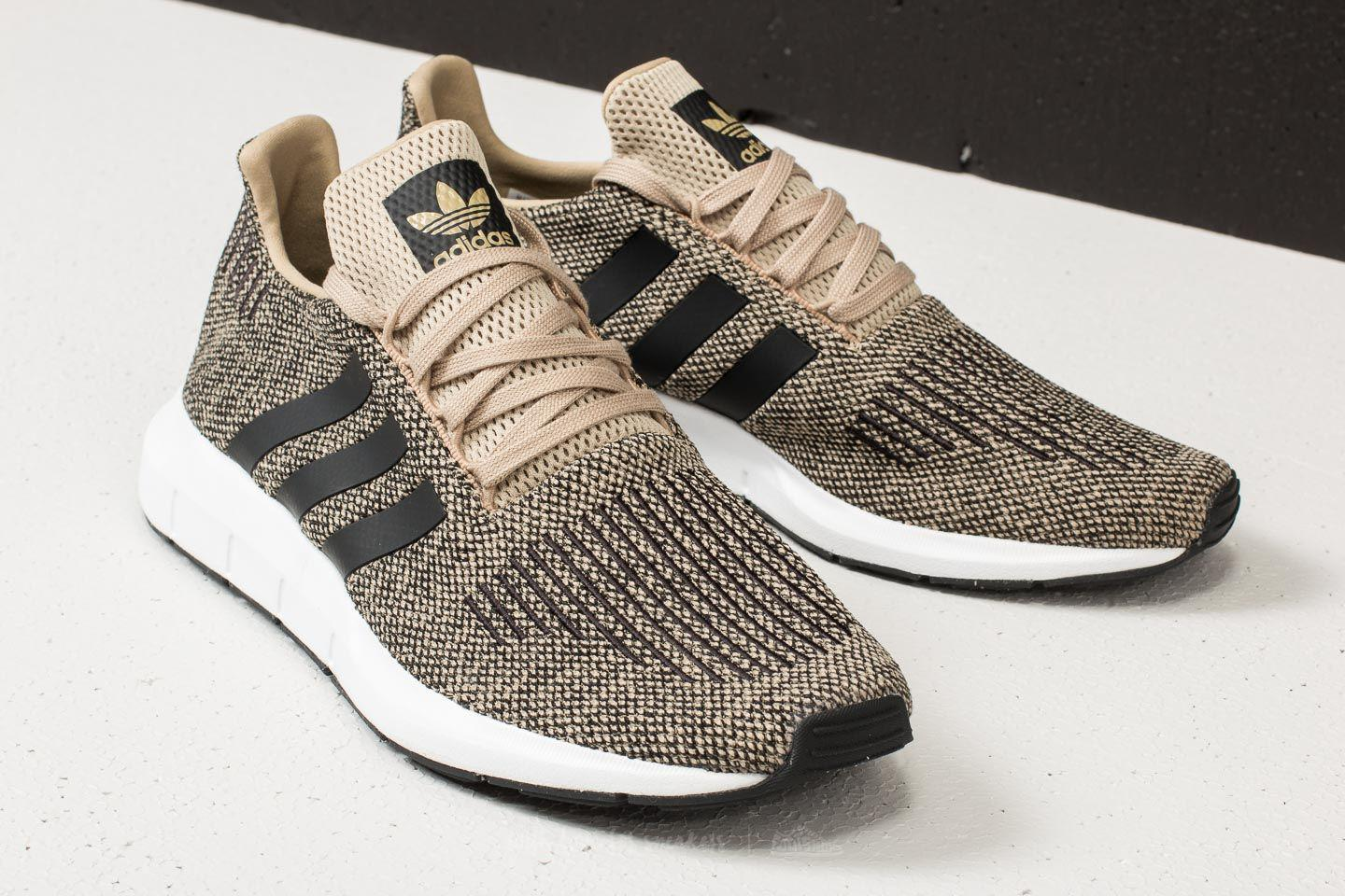 deda3e6c7ab Lyst - adidas Originals Adidas Swift Run Raw Gold  Core Black  Ftw ...