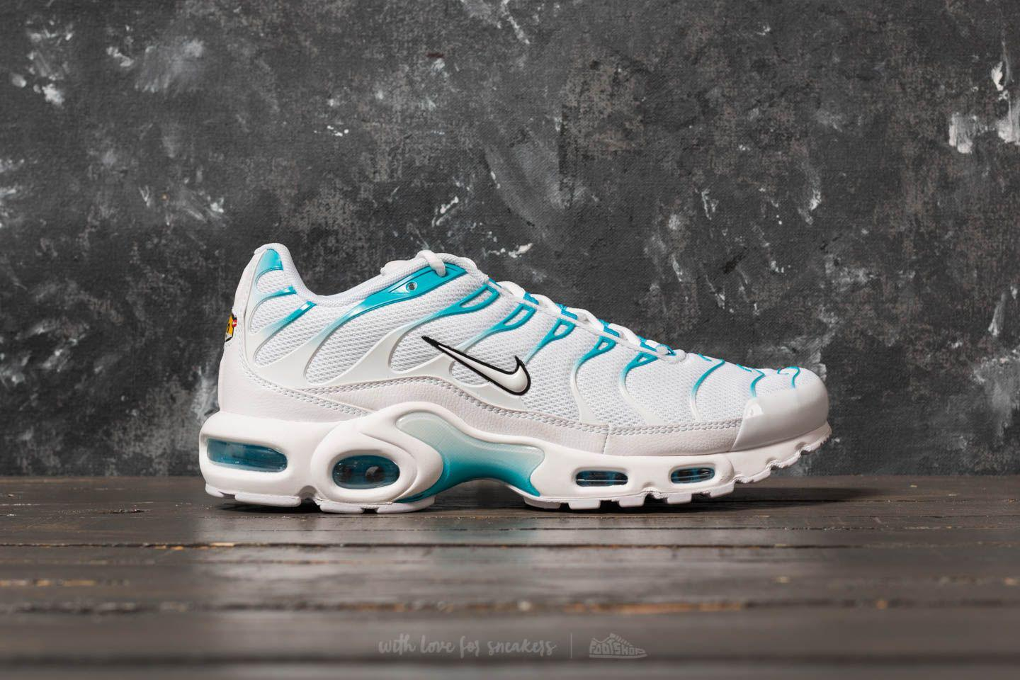 0c2ccb38b5a ... promo code lyst nike air max plus white white light blue fury in white  for men