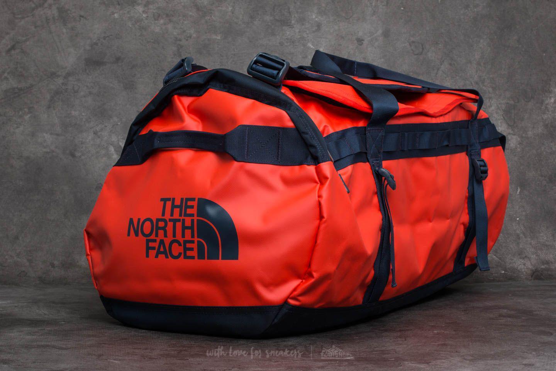 e1970ac934 Footshop The North Face Base Camp Large Duffel Poinciana Orange ...