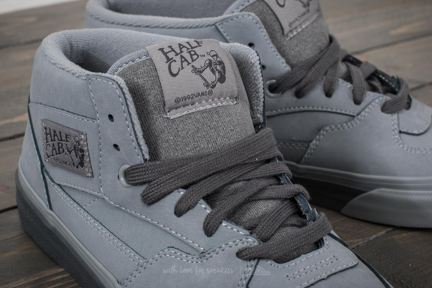 be376ab301 Lyst - Vans Half Cab (mono Buck) Frost Gray in Gray for Men