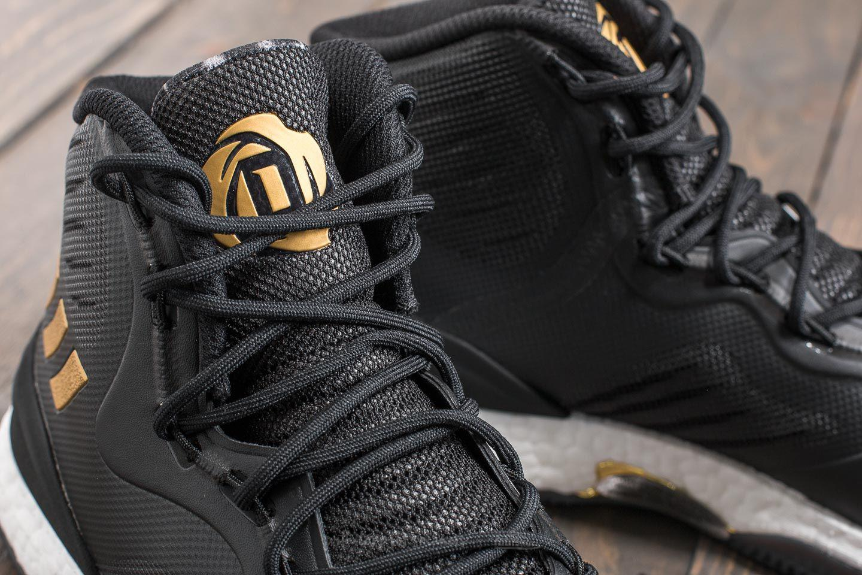 size 40 86f02 aa7a9 Lyst - adidas Originals Adidas D Rose 8 Core Black Gold Meta