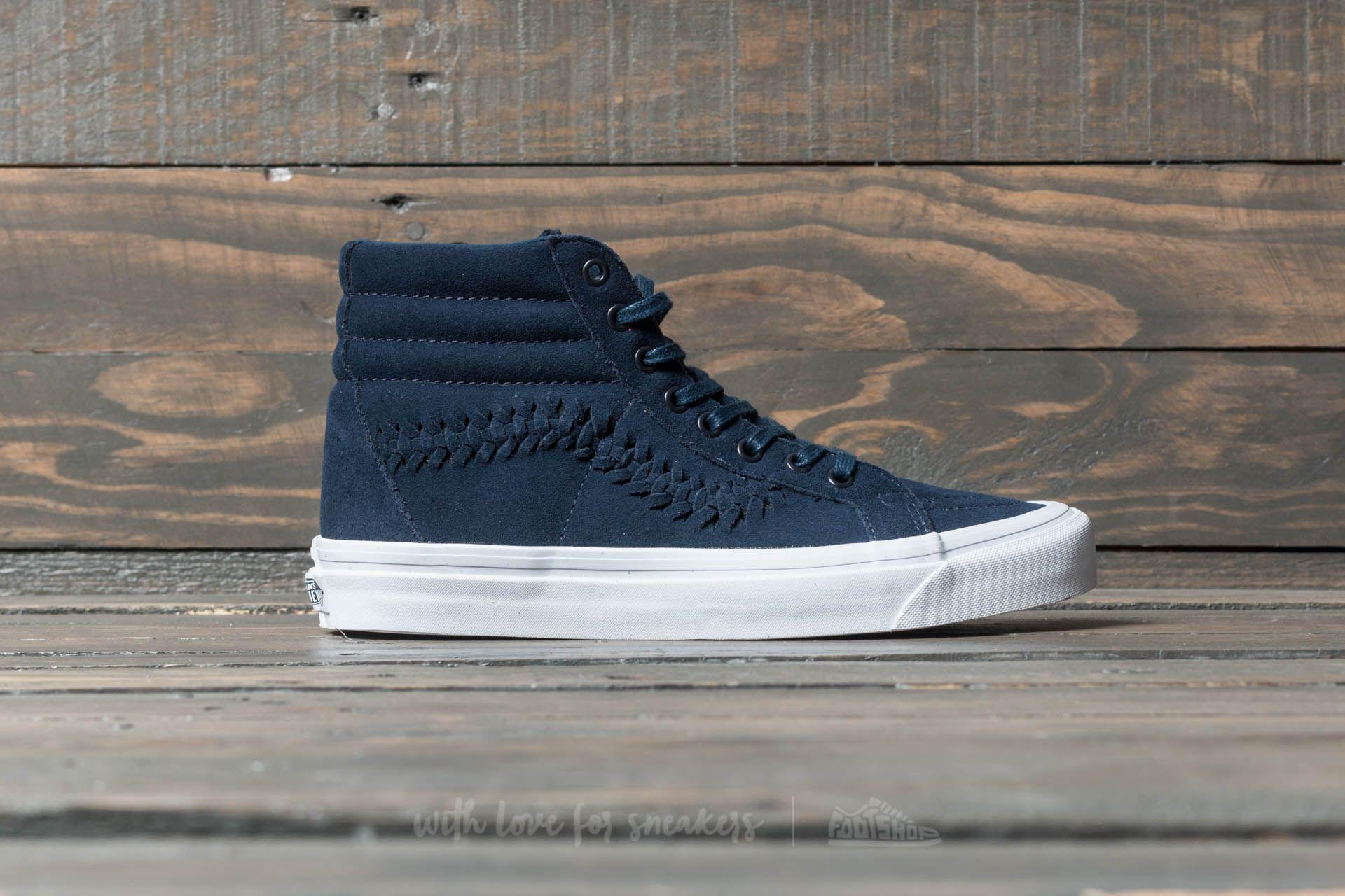 bd705e59d459a3 Lyst - Vans Sk8-hi Weave Dx (suede) Dress Blues in Blue for Men