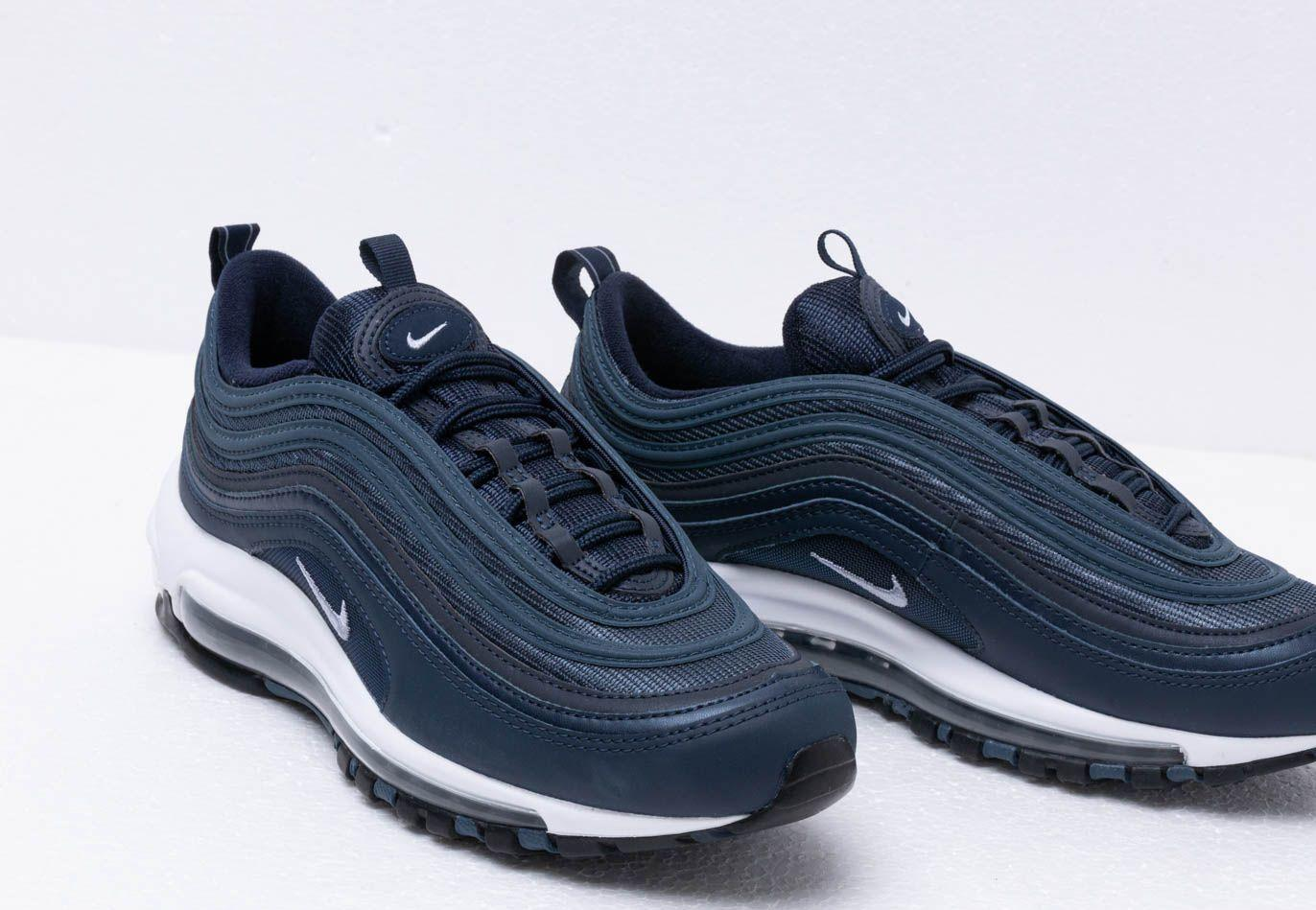 c76f484aa9 Nike - Air Max 97 Essential Obsidian/ Obsidian Mist-monsoon Blue for Men -.  View fullscreen