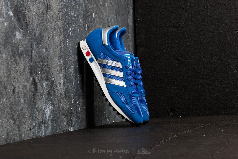 07d1dbaff03a5 Lyst - adidas Originals Adidas La Trainer Hi-res Blue  Metallic ...