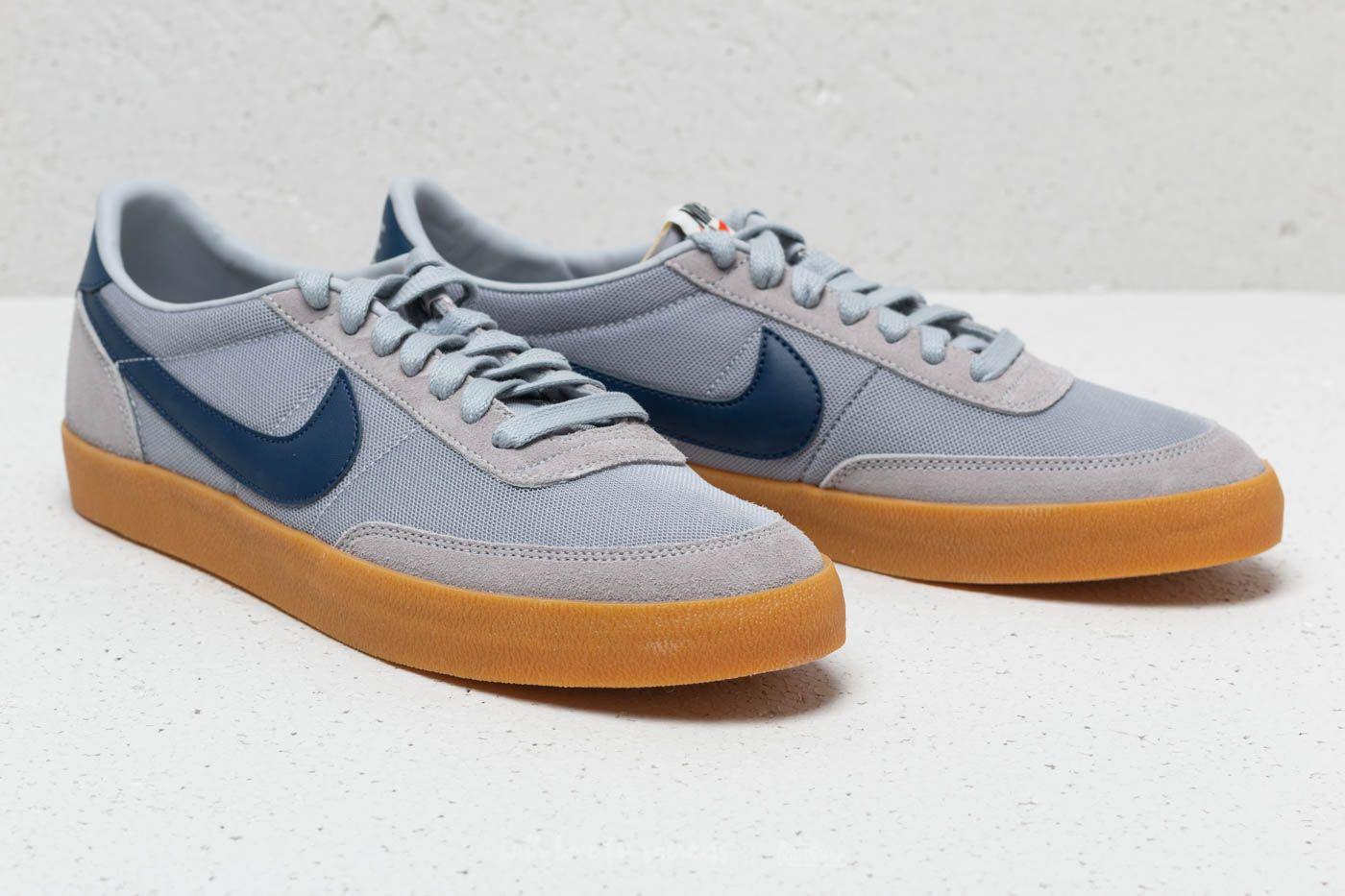 Lyst - Nike Killshot Vulc Wolf Grey  Navy-gum Yellow in Blue for Men b78448db4