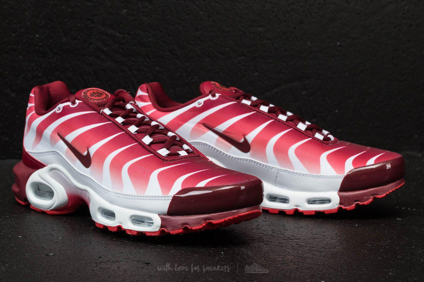 f6c91e1f5077f6 Lyst - Nike Air Max Plus Tn Se White  Team Red-speed Red in Red for Men