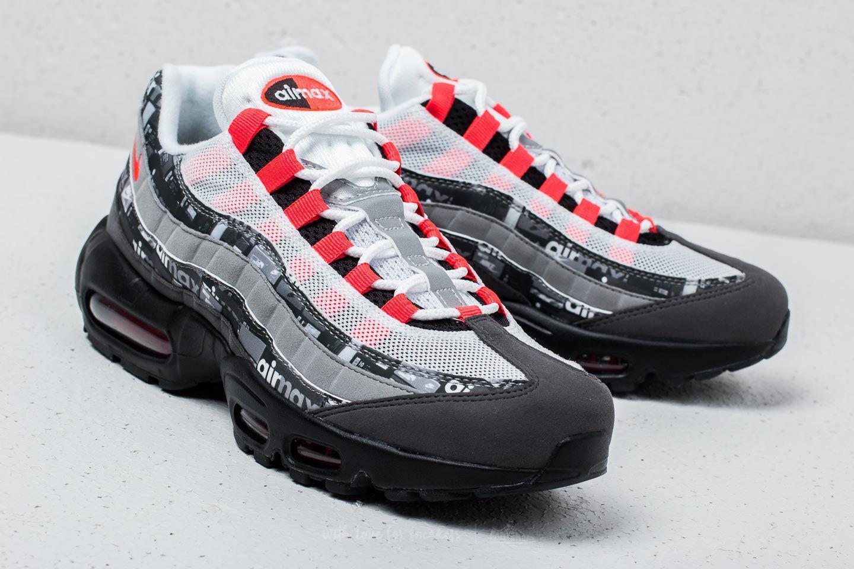 best sneakers d8c7d e3e28 Lyst - Nike Air Max 95 Print Black  Bright Crimson in Black for Men