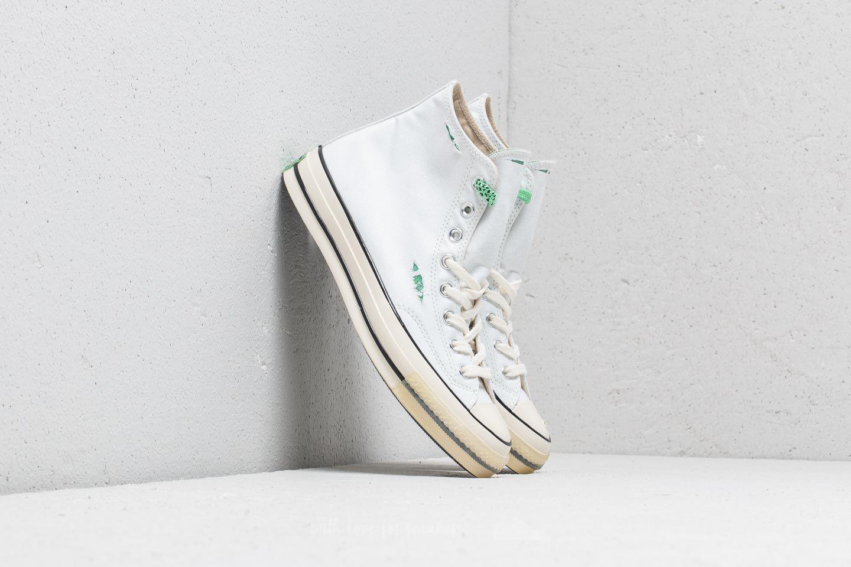 dd6e99bafb31f Lyst - Converse Chuck Taylor All Star 70 White  Absinthe Green ...
