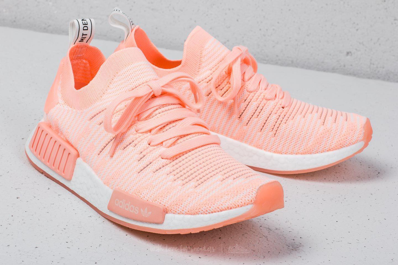 975991255 Lyst - adidas Originals Adidas Nmd r1 Stlt Primeknit W Clear Orange ...