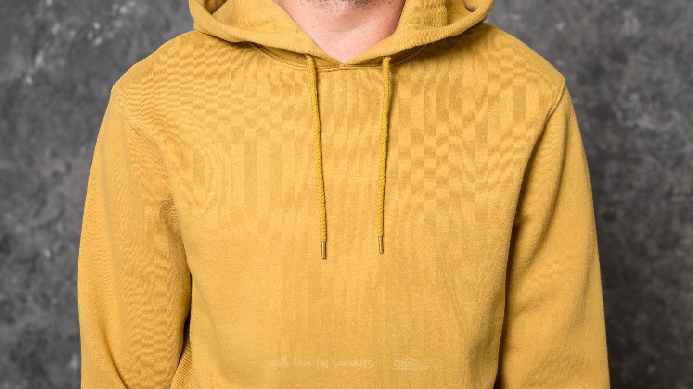 7444b6e85d02 Stussy Jacquard Rib Hood Gold in Yellow for Men - Lyst