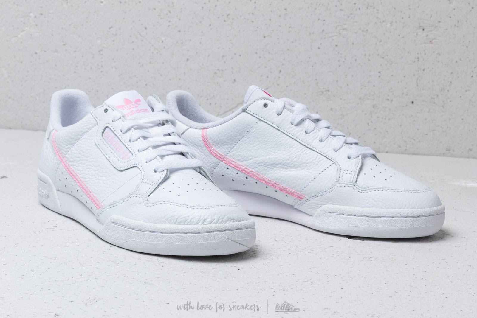 629710933c81 Lyst - adidas Originals Adidas Continental 80 W Ftw White  True Pink ...