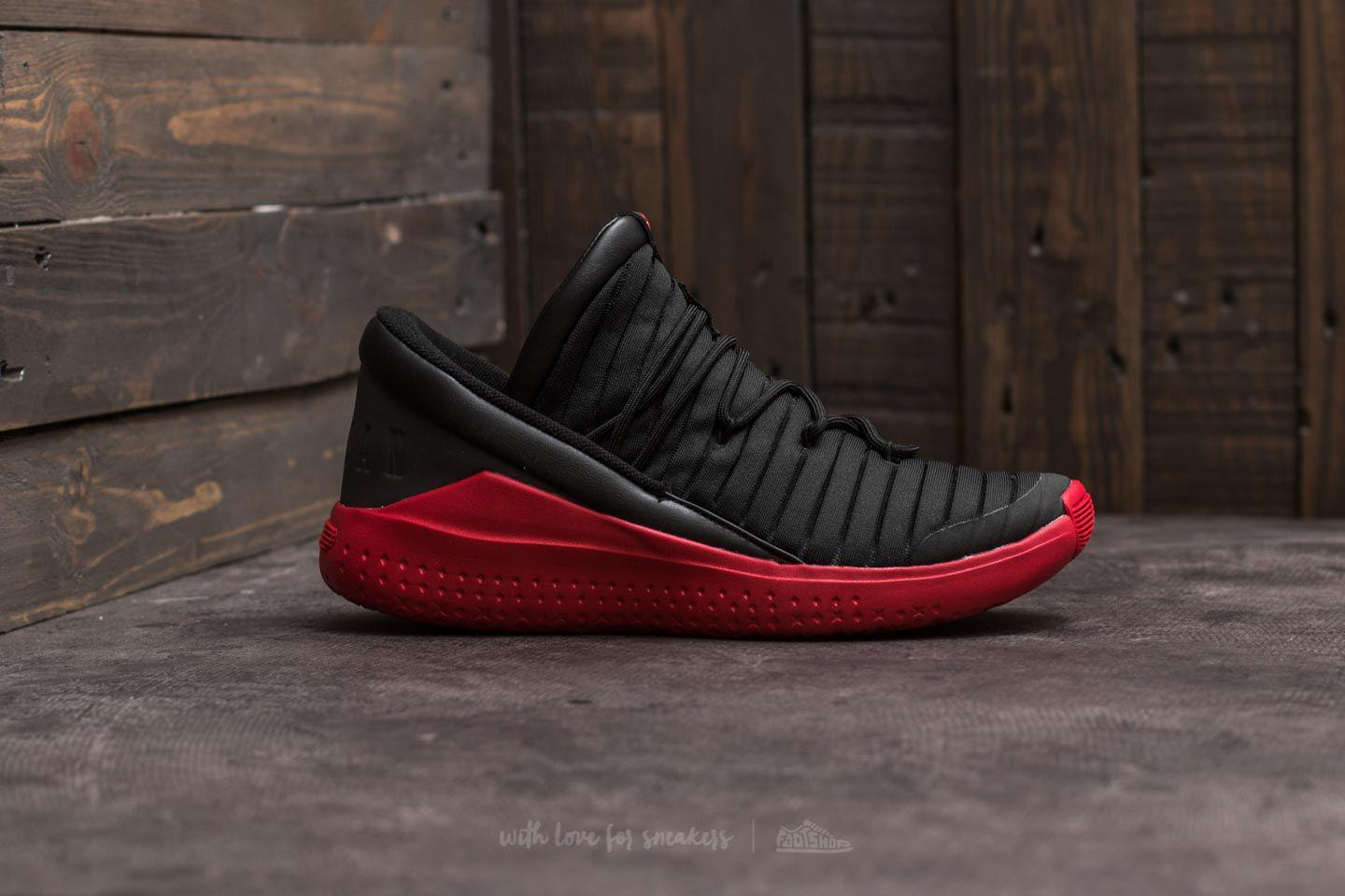 brand new 88534 d63d9 Nike Flight Luxe Black  Gym Red-gym Red in Red for Men - Lyst