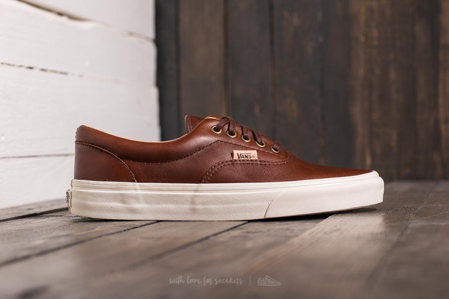 Vans Era chaussures lux leather choco jeDd6