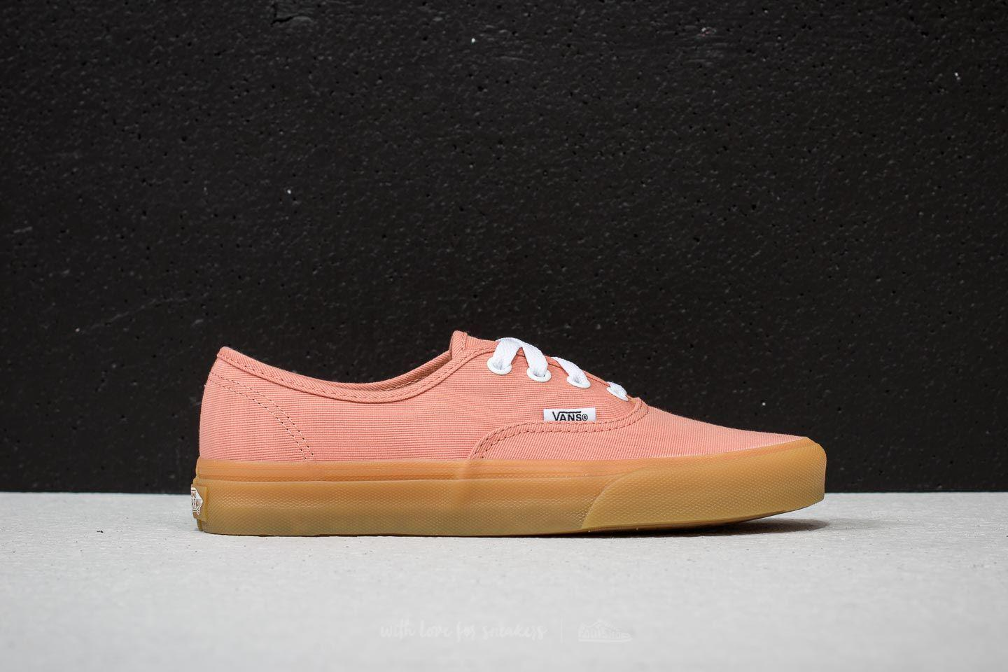 87b084bba5 Lyst - Vans Authentic Muted Clay  Gum