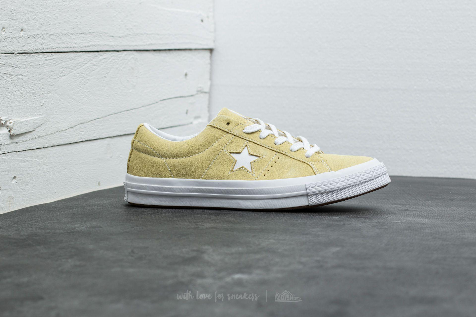 One White Haze Star In Converse Lyst Lemon Ox c4qLAR35j