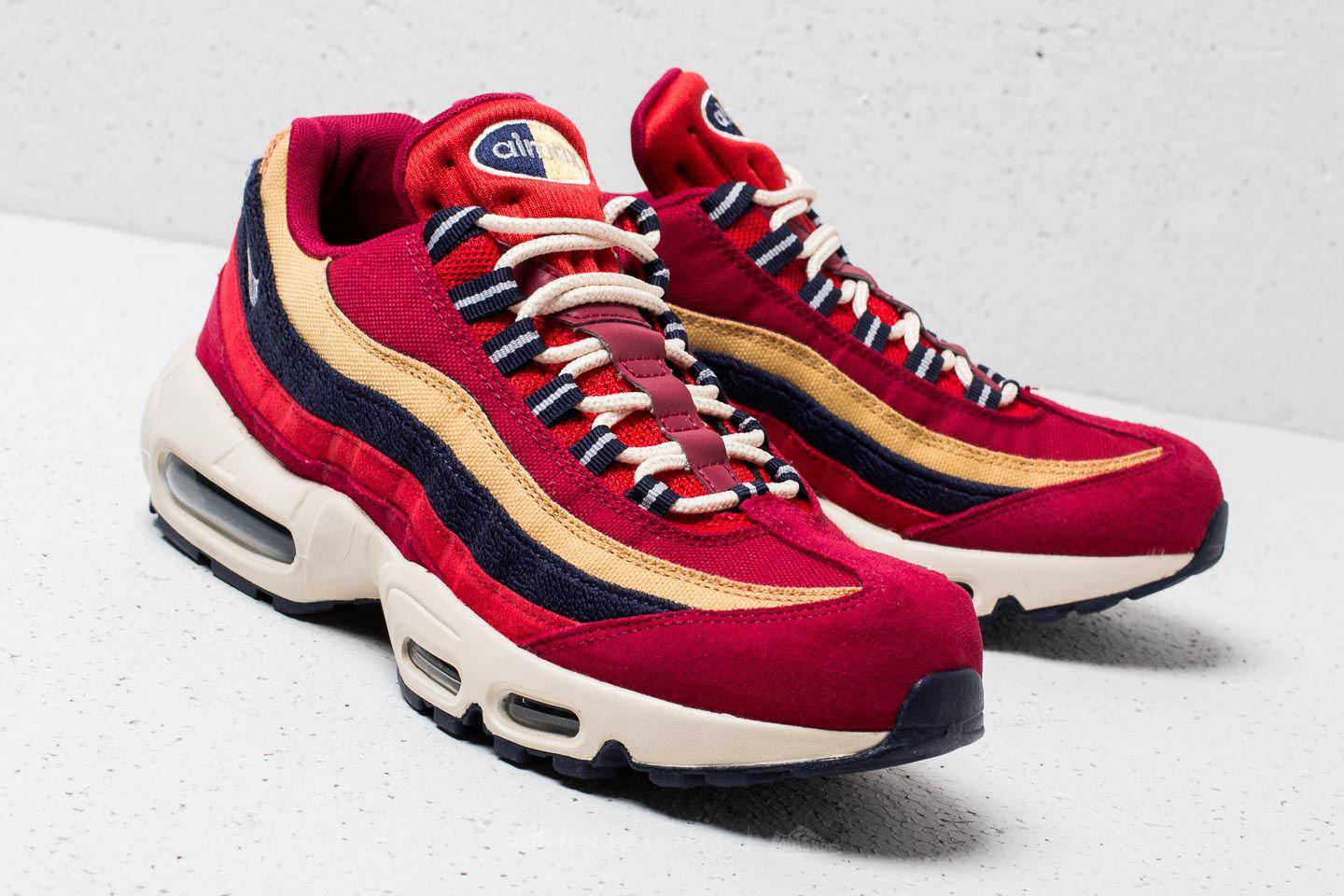 ... where to buy lyst nike air max 95 premium red crush provence purple in  red for 9427613bc