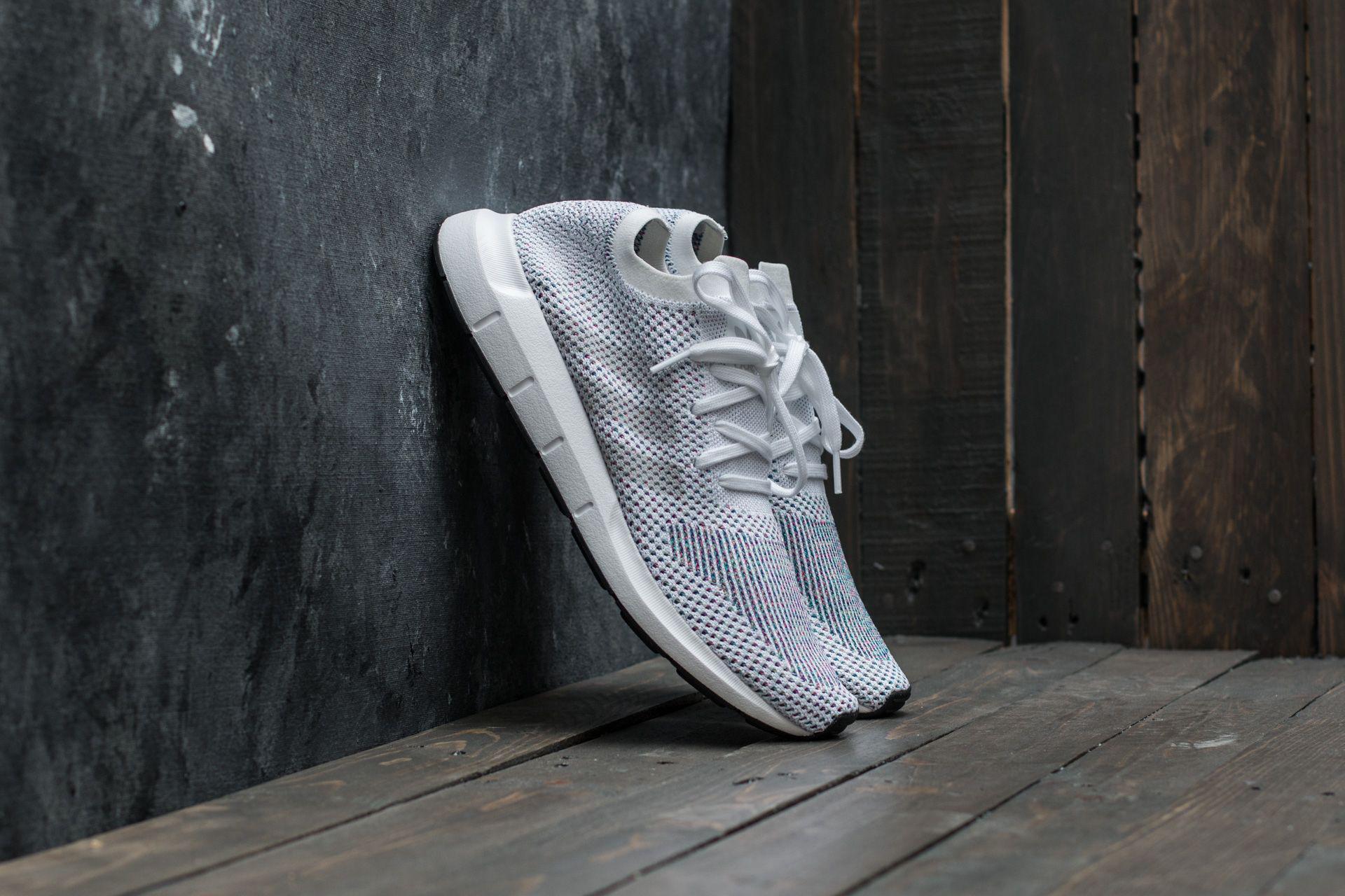 bc5d95ed1 Lyst - adidas Originals Adidas Swift Run Primeknit Ftw White  Grey ...