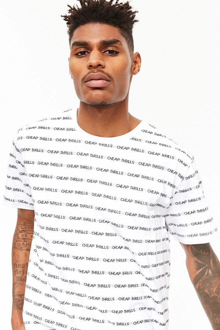 0d775896b Forever 21 Cheap Thrills Graphic Tee in White for Men - Lyst