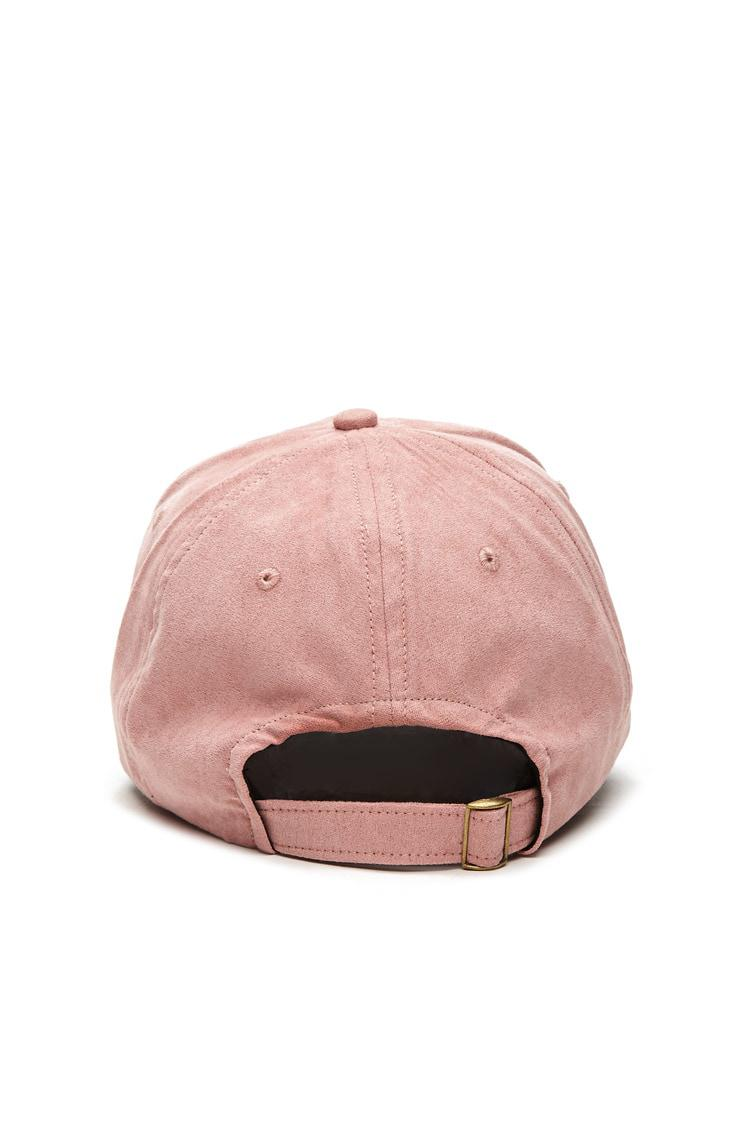 b72df07d527 Lyst - Forever 21 Men Faux Suede Cap in Pink for Men